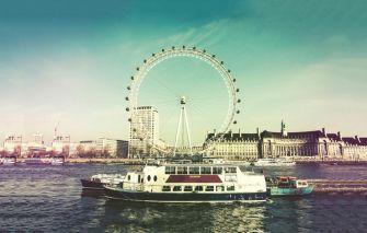 最著名的摩天轮伦敦眼 好看摩天轮图片